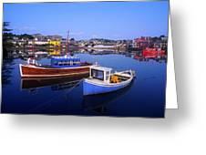 Kinsale, Co Cork, Ireland Greeting Card