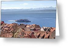 Lake Constance Meersburg Greeting Card by Joana Kruse