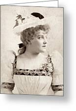 Lillian Russell (1861-1922) Greeting Card