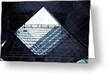 London Southbank Abstract Greeting Card