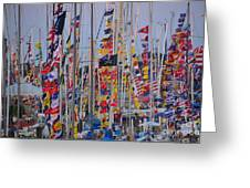 Mackinac Race Greeting Card