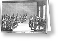 Moravians, 1757 Greeting Card