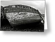 Old Abandoned Ship Greeting Card