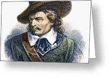 Oliver Cromwell (1599-1658) Greeting Card