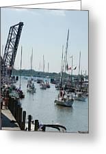 Port Huron To Mackinac Island Race Greeting Card