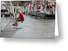 Port Huron To Mackinac Race Greeting Card
