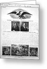 Presidential Campaign 1840 Greeting Card