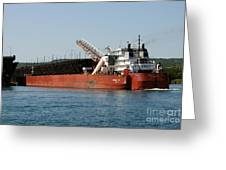 Presque Isle Ship Greeting Card