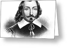 Samuel De Champlain Greeting Card