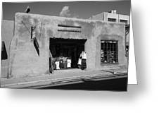 Santa Fe Shops Greeting Card