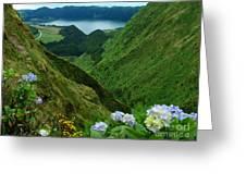 Sete Cidades - Azores Greeting Card
