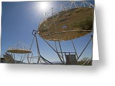Solar Furnace, Spain Greeting Card