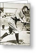 Ty Cobb (1886-1961) Greeting Card