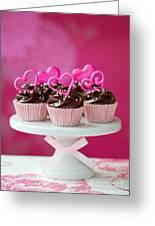 Valentine Cupcakes Greeting Card