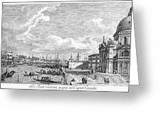 Venice: Grand Canal, 1742 Greeting Card
