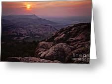 Wichita Mountains Greeting Card