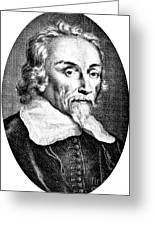 William Harvey, English Physician Greeting Card
