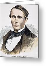 William Walker (1824-1860) Greeting Card