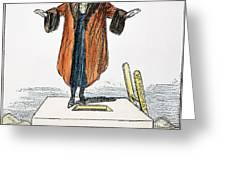 Womens Rights Cartoon Greeting Card