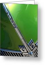 40 Ford - Grill Detail-8610 Greeting Card