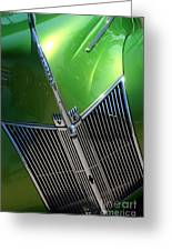40 Ford - Grill Detail-8618 Greeting Card
