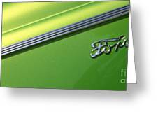40 Ford - Logo-8589 Greeting Card