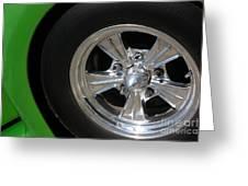 40 Ford-driver Rear Wheel 2-8577 Greeting Card