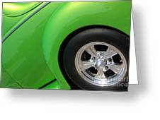 40 Ford-driver Rear Wheel-8581 Greeting Card