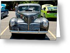 41 Hudson Super Six 1 Greeting Card