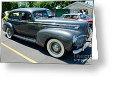 41 Hudson Super Six Side View Greeting Card