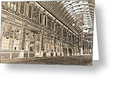 Leadenhall Market London Greeting Card
