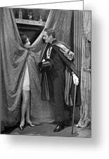 Silent Still: Man & Woman Greeting Card