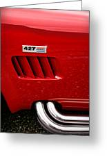 427 Ford Cobra Greeting Card