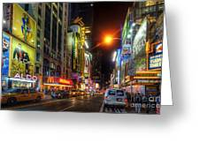 42nd Street Nyc 3.0 Greeting Card