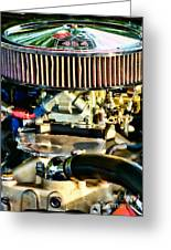 454 Horsepower Greeting Card by Colleen Kammerer