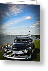 '47 Chevy By The Bay Greeting Card
