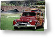 47 Olds Woody Greeting Card