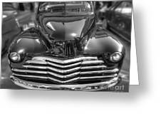48 Chevy Convertible Greeting Card