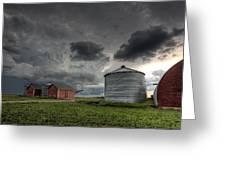 Storm Clouds Saskatchewan Greeting Card
