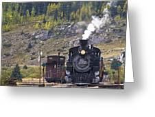 482 In Silverton Greeting Card
