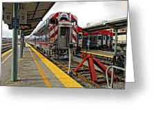 4th And King St. Caltrains Station - San Francisco Greeting Card