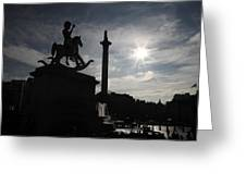 4th Plinth 3 Greeting Card by Jez C Self