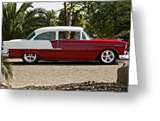 1955 Chevrolet 210 Greeting Card