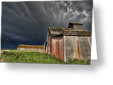 Abandoned Farm Greeting Card