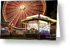 Amusement Park Greeting Card