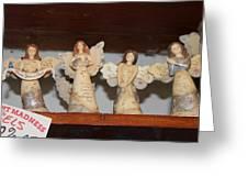 5 Angels Greeting Card