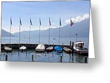 Ascona - Ticino Greeting Card
