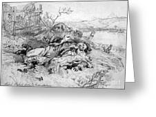 Battle Of Fredericksburg Greeting Card