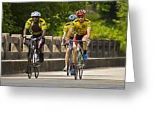 Bicycle Ride Across Georgia Greeting Card