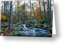 Big Hunting Creek Upstream From Cunningham Falls Greeting Card